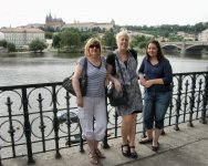 Kate Sherratt in Prague