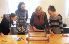 Weaving course February 2014