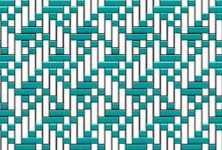 Vzory pro tkaní na 4-listových a 8-listových stavech